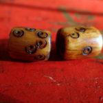 khamaoldstonedicebeads