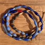 blowglassrussianbluetradebeadsred